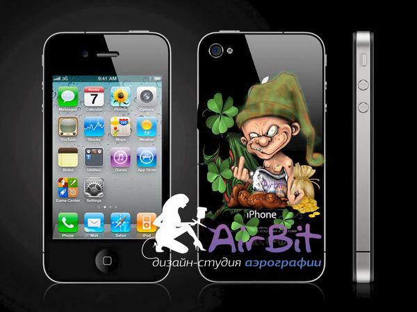 Лепрекон на iphone 4g