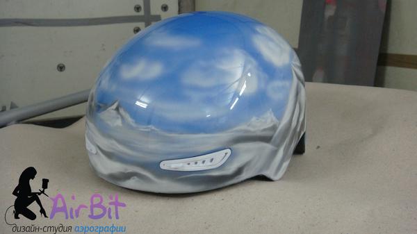 Сноубордический шлем