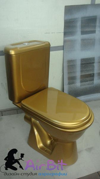 Золотой унитаз RichBich