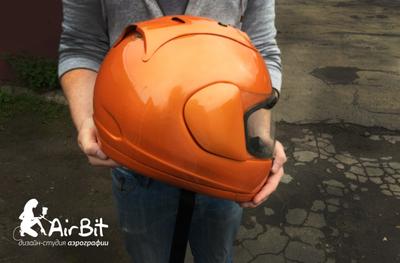 Покраска шлема