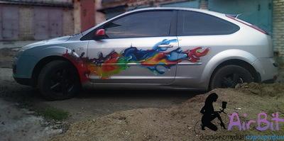 Ford focus Красочный бриз