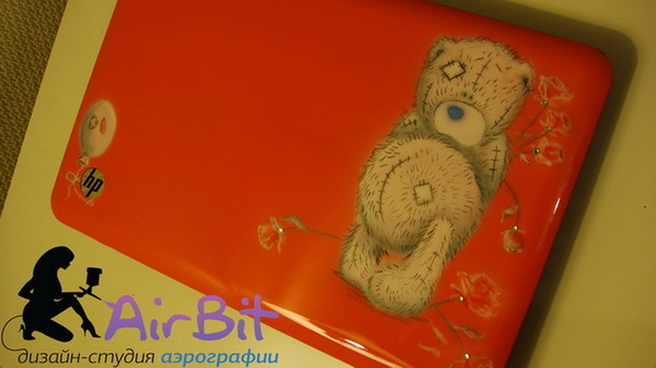 Аэрография Teddy Bear